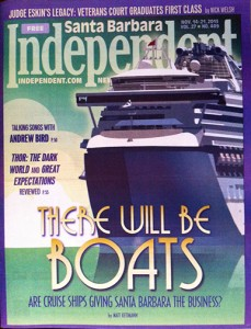 The cover of the Santa Barbara Independent