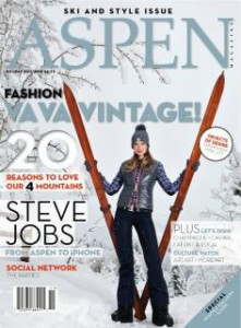 Aspen Magazine Cover Winter 2011-12