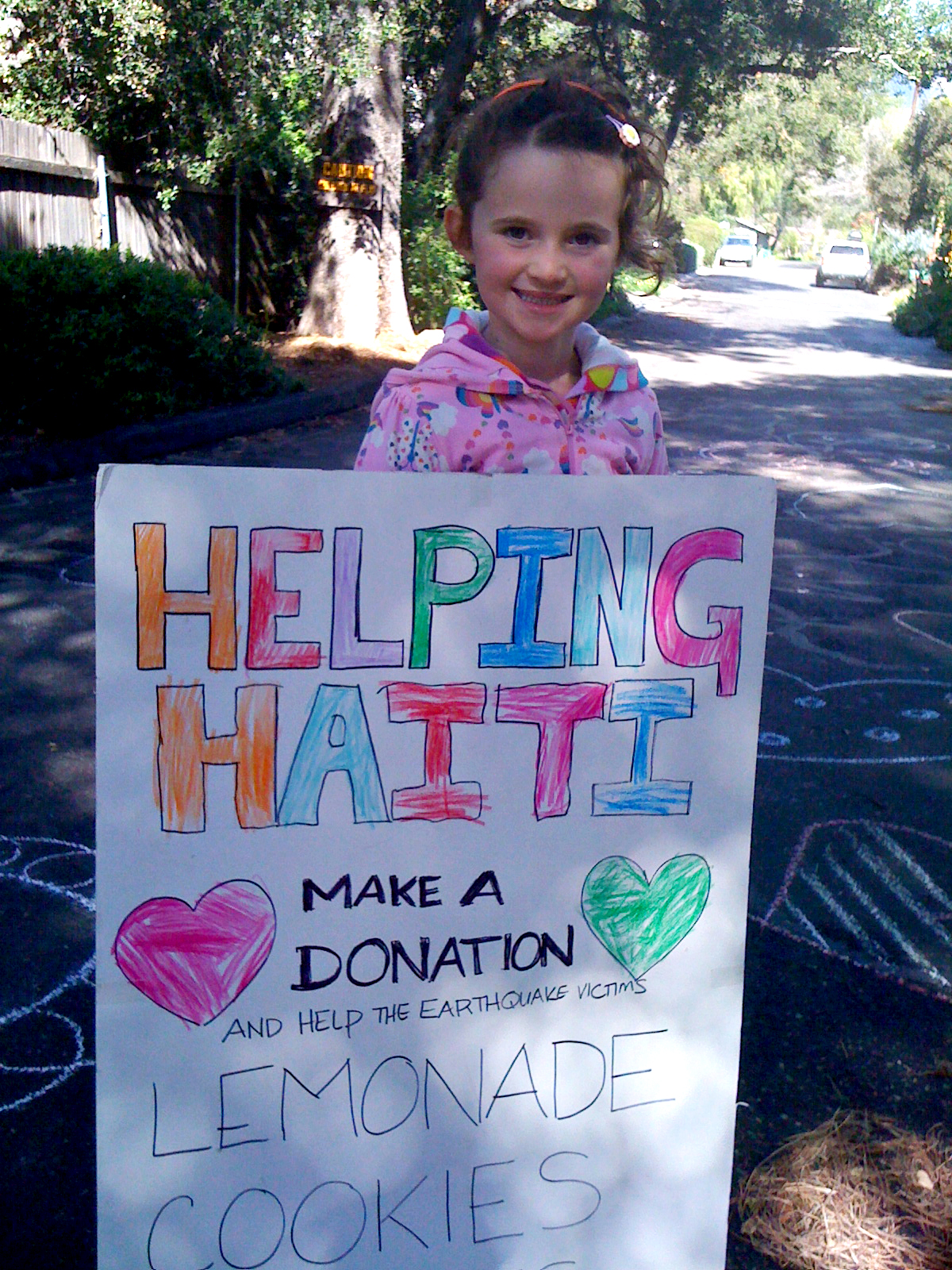 Olivia Haiti Fundraiser
