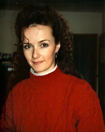 Portrait of Becky Aaronson late 80's