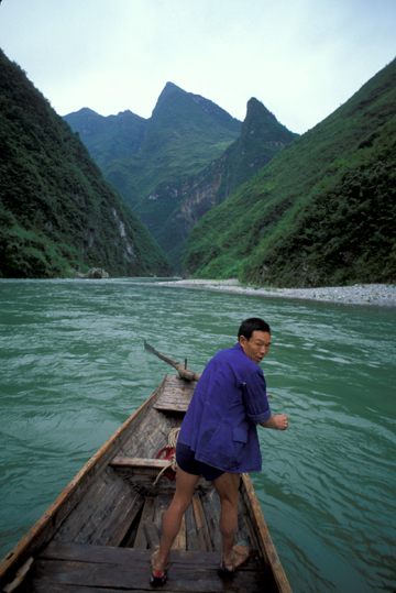 Photo of Yangtze River in China