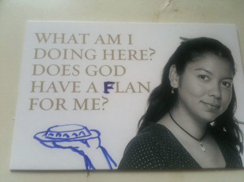 Photo of does god have a flan for me