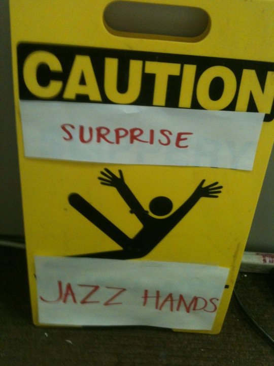 Photo of jazz hands