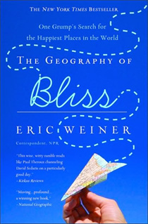 Geography of Bliss book cover photograph