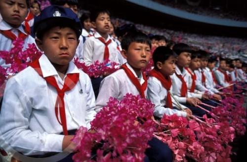 Photo of North Korean children