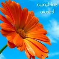 Sunshine blog award graphic