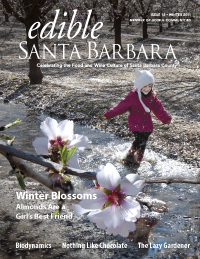 Cover of Edible Santa Barbara Winter 2011