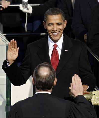 Photo Barack Obama inauguration