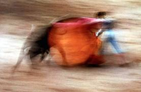 Photo of bullfighting by Ernst Haas