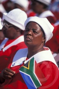 Photo of a South African Woman