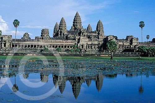 Photo of Angkor Wat Temple Complex in Cambodia