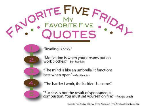 Favorite Five Quotes