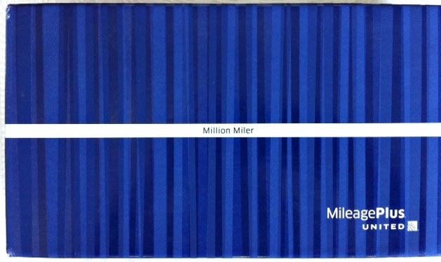 Photo of a box for Million Mile Flyers from United Airlines
