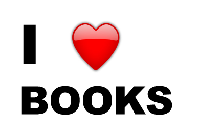 I Love Books Graphic