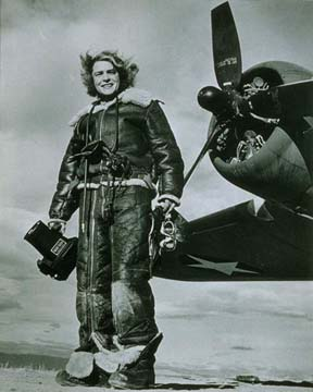 Margaret Bourke-White Portrait 1943