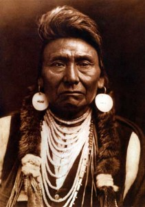 Edward Curtis Photo of Chief Joseph