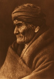 Edward Curtis Photo of Geronimo
