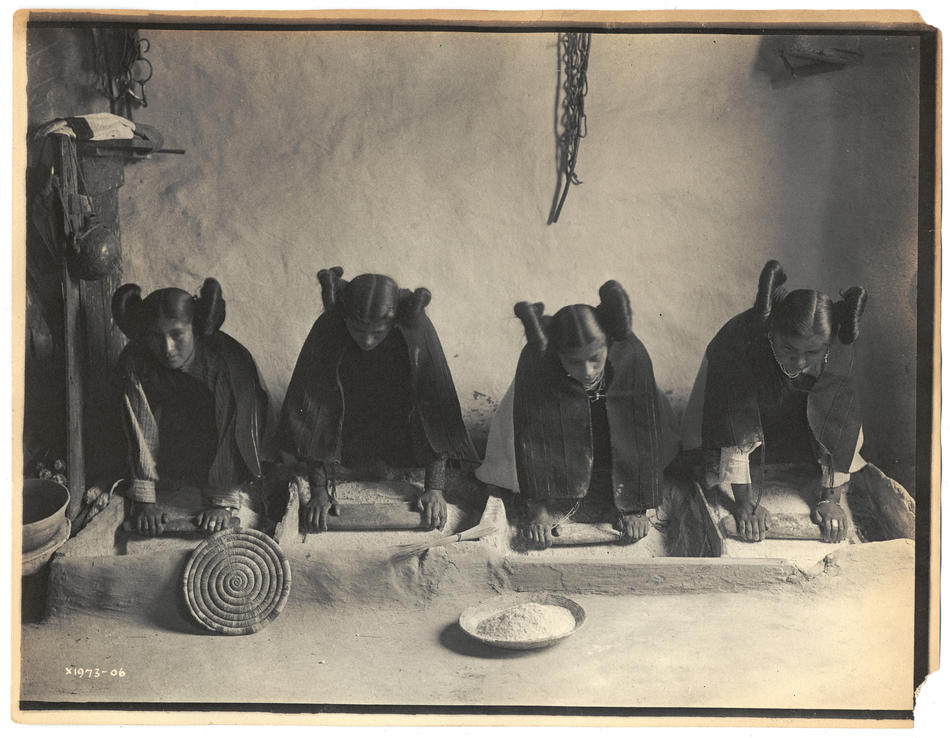 Photo of Hop by Edward S. Curtis