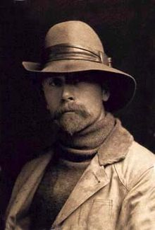 Portrait of Photographer Edward Curtis, 1889