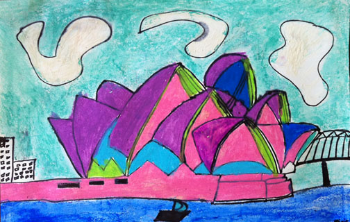 Sweet Bug Art 4 Children's Art Sydney Opera House