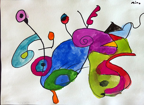Sweet Bug Art 2 Children's Art Miro