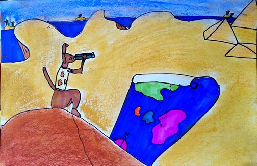 Sweet Bug Art Children's art
