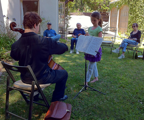 Photo of Cellist for 90th birthday celebration