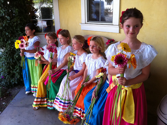 Santa Barbara Fiesta Girls