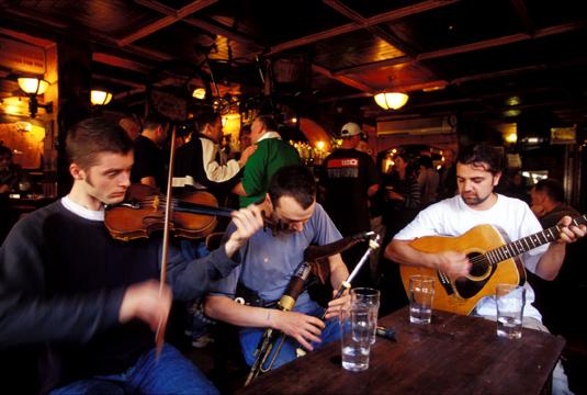 Photo of Irish Musicians