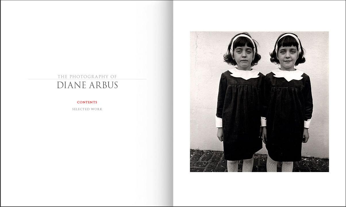 Diane Arbus Website