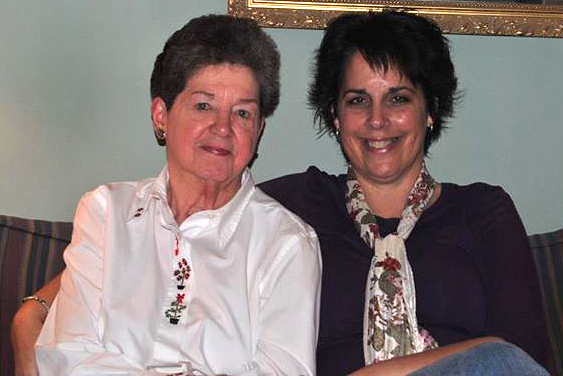 Portrait of Laura Bergerson and Charlotte Eckart