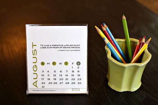 2014 Creative Peeps Inspirational Calendar