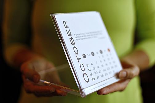 2014 Creative Peeps Inspirational Desk Calendar