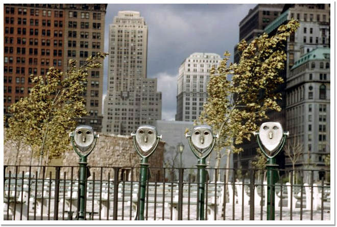 Photo of Ernst Haas binoculars NYC