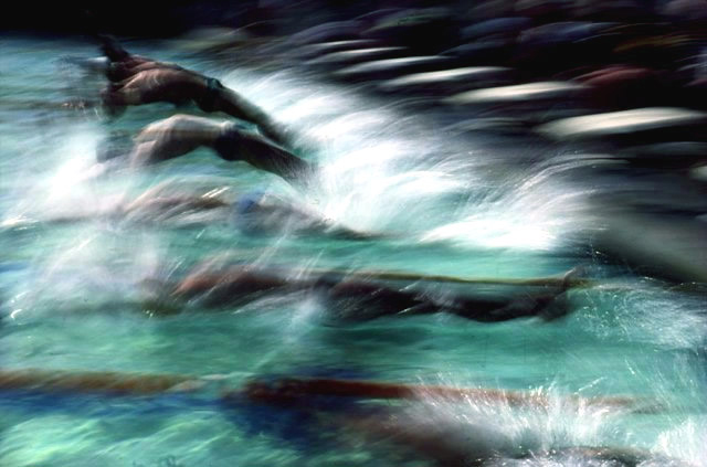 Ernst Haas Olympic Swimmers