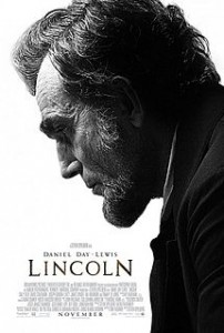 Graphic of Lincoln movie poster