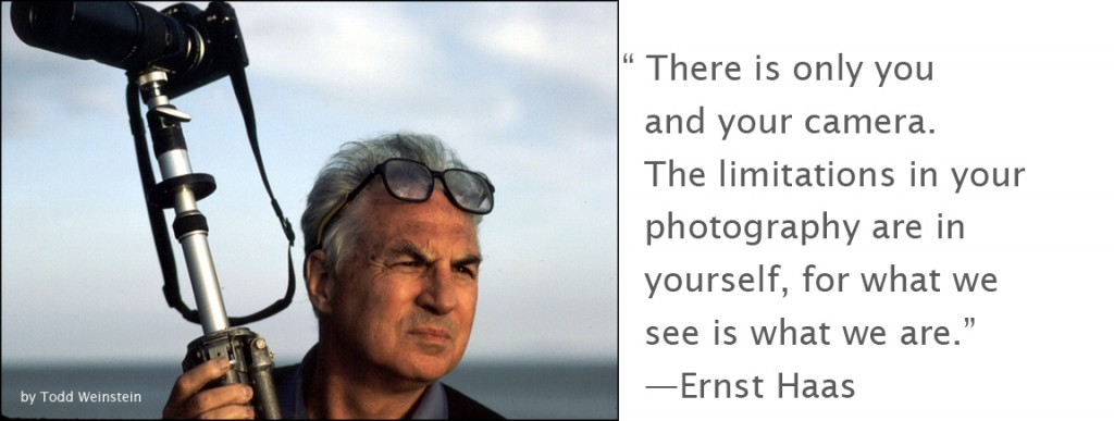 Portrait of Ernst Haas