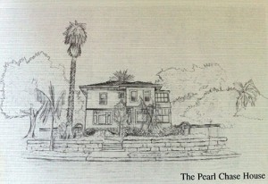 Drawing of the Pearl Chase House