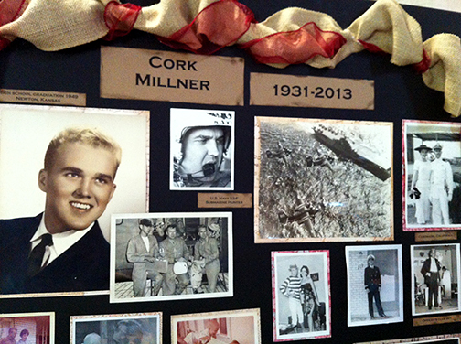 Photos of Cork Millner's memorial