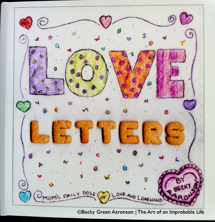 Photo of Becky Green Aaronson's book, Love Letters